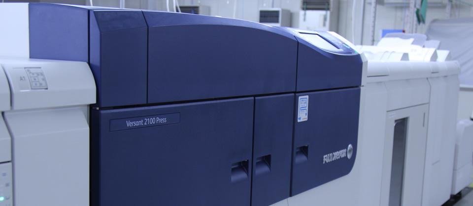 オンデマンド印刷機写真